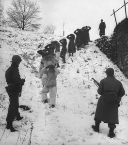 1 er armee us transfert prisonnier ardennes 1945