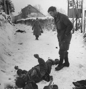 Soldat americain bataille ardennes 1945