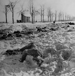 soldats us morts à malmedy 1945 par john Florea