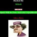Le site Internet de la Télévision Libyenne Hack par Ktkoti