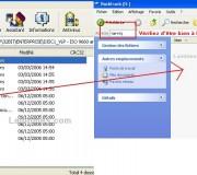 Transférer le contenue de votre archive à la racine de votre clef usb