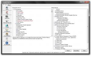L'interface utilisateur de RT seven Lite