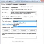Arreter/Desactiver TrustedInstaller Service avec Windows 7