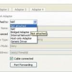 Les types de connections réseaux avec Oracle VirtualBox