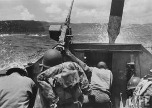 debarquement us bataille guam 1944 par Eugene Smith