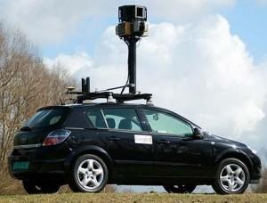 La voiture google street view