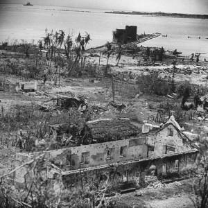 peninsule apres combat bataille guam 1944 par Eugene Smith