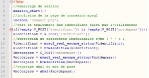 script session notepad ++