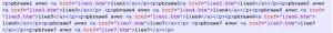 block de code sans mise en forme