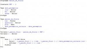 script types structures