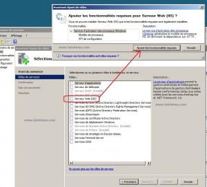 2 ajout rôle et fonctionnalités requises iis windows serveur