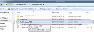 0 ouvrir fichier configuration machine virtuelle