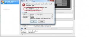1 nom host networking error virtualbox