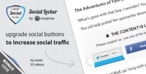 by passed sociallocker jquery