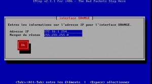 vmware ipcop interface orange adressage
