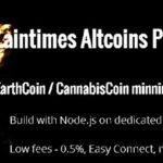 Pool P2P Française de minage sur CannabisCoin et Earthcoin
