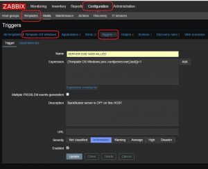 trigger nb instance application zabbix