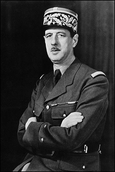 Charles de Gaulle analyse la Guerre d'Algerie