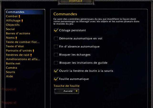 Macros pour Voleur – World of warcraft