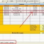 Excel – Fonction  RECHERCHEV pour de l'Auto-complétion
