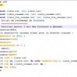 Script Batch Renomer fichiers et dossiers