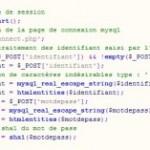 Script TP d'authentification en PHP et SQL