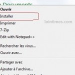 Installer le codec LAMEACM pour disposer du format d'encodage MP3